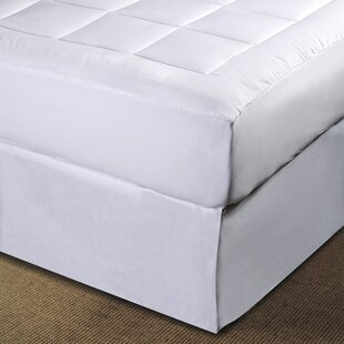 Micro Plush Pillowtop Polyester Mattress Pad