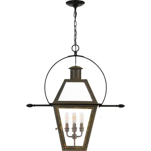 Lois 4-Light Outdoor Hanging Lantern