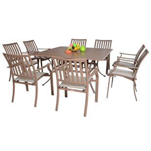 Panama Jack Outdoor Island Breeze 9 Piece Dining Set