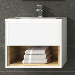 Coast 510mm Wall Mount Vanity Unit By Hudson Reed