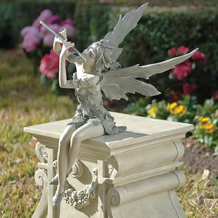 Statue Fairy Of West Wind Sitting Image