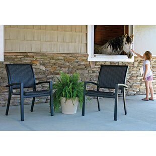 Kendall Stacking Patio Dining Chair