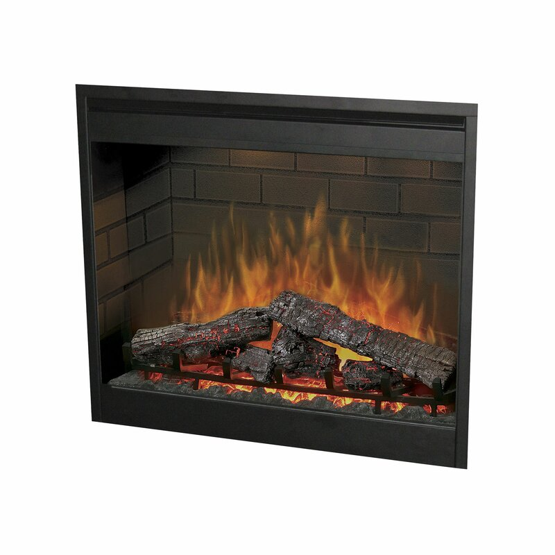 Dimplex Wall Mounted Electric Fireplace Insert Reviews Wayfair