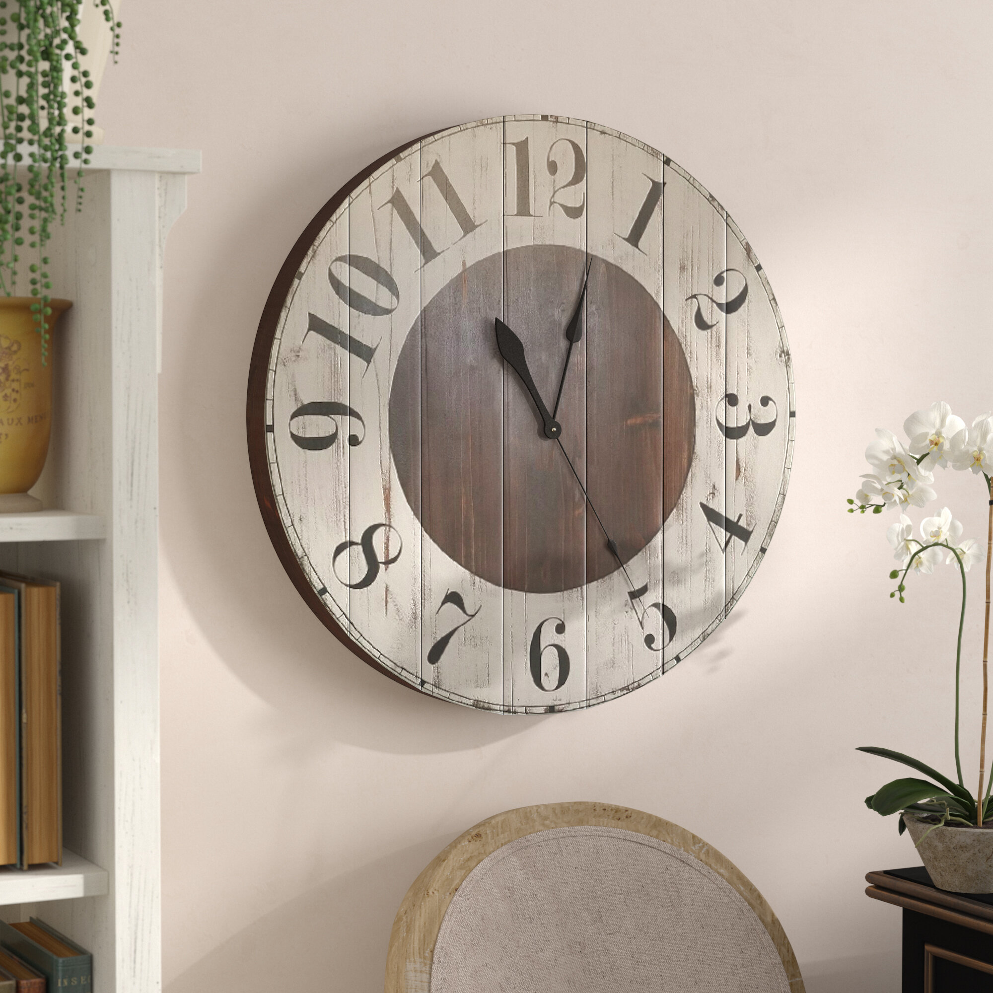 Oversized Wall Clocks You Ll Love In 2021 Wayfair