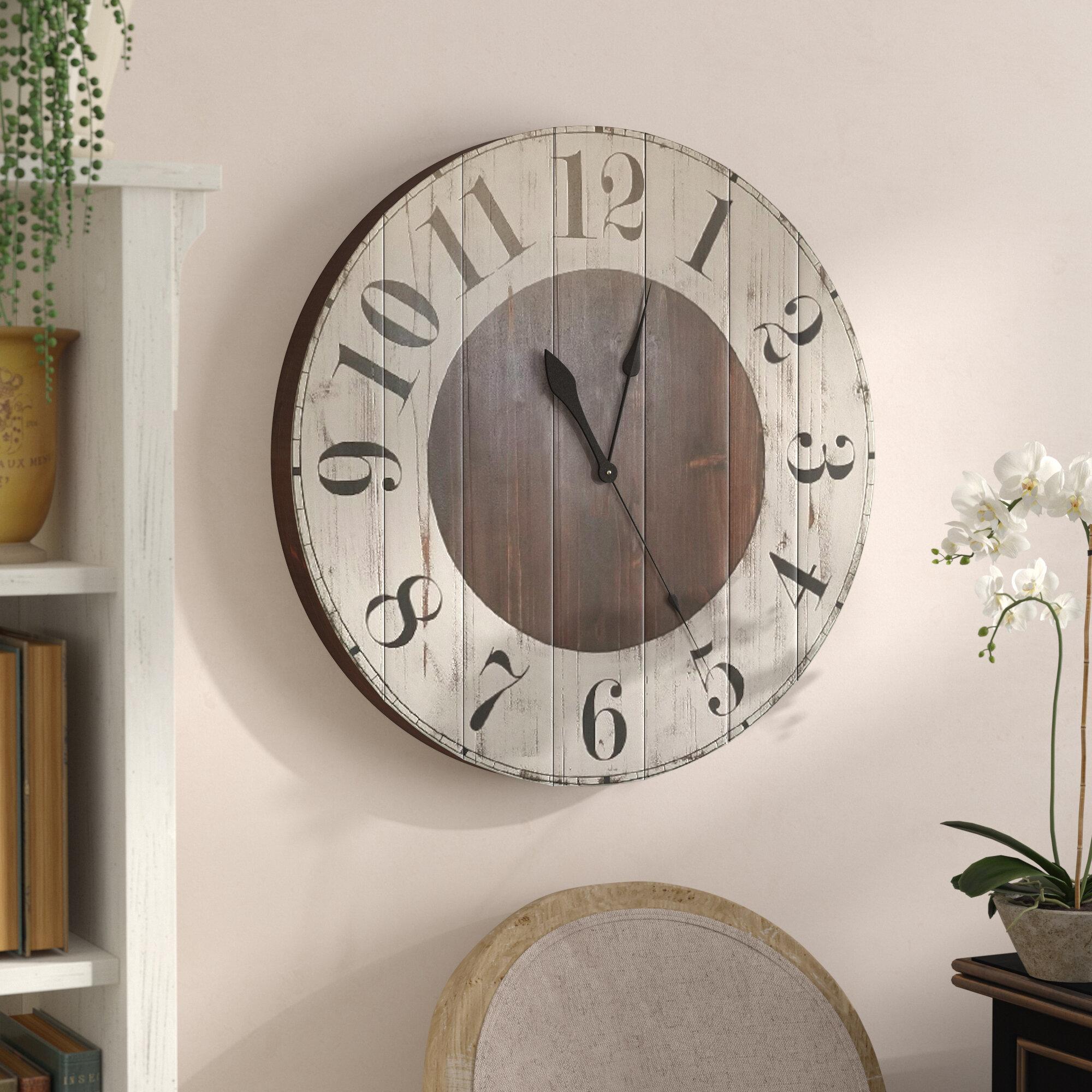Oversized Wall Clocks You Ll Love In 2021 Wayfair