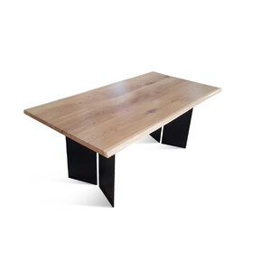 Bednar Solid Wood Dining Table by Foundry Select Design