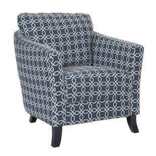 Angled Kaleidoscope Armchair by Monarch Specialties Inc.