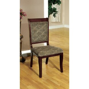 Langport Upholstered Dining Chair (Set of 2) Fleur De Lis Living