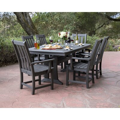 Vineyard 7 Piece Dining Set by POLYWOOD® Great Reviews