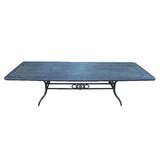 Vandyne Extendable Metal Dining Table