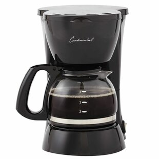 4-Cup Carafe Glass Coffee Maker