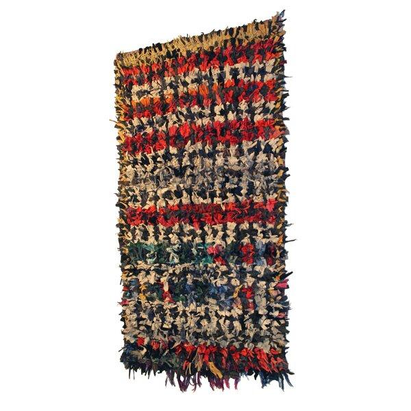 Casablanca Market Boucherouite Carpets Red Beige Area Rug Wayfair