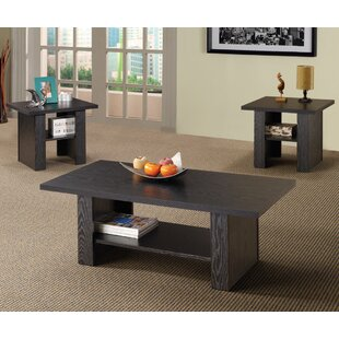 Wildon Home ? Youngtown 3 Piece Coffee Table Set
