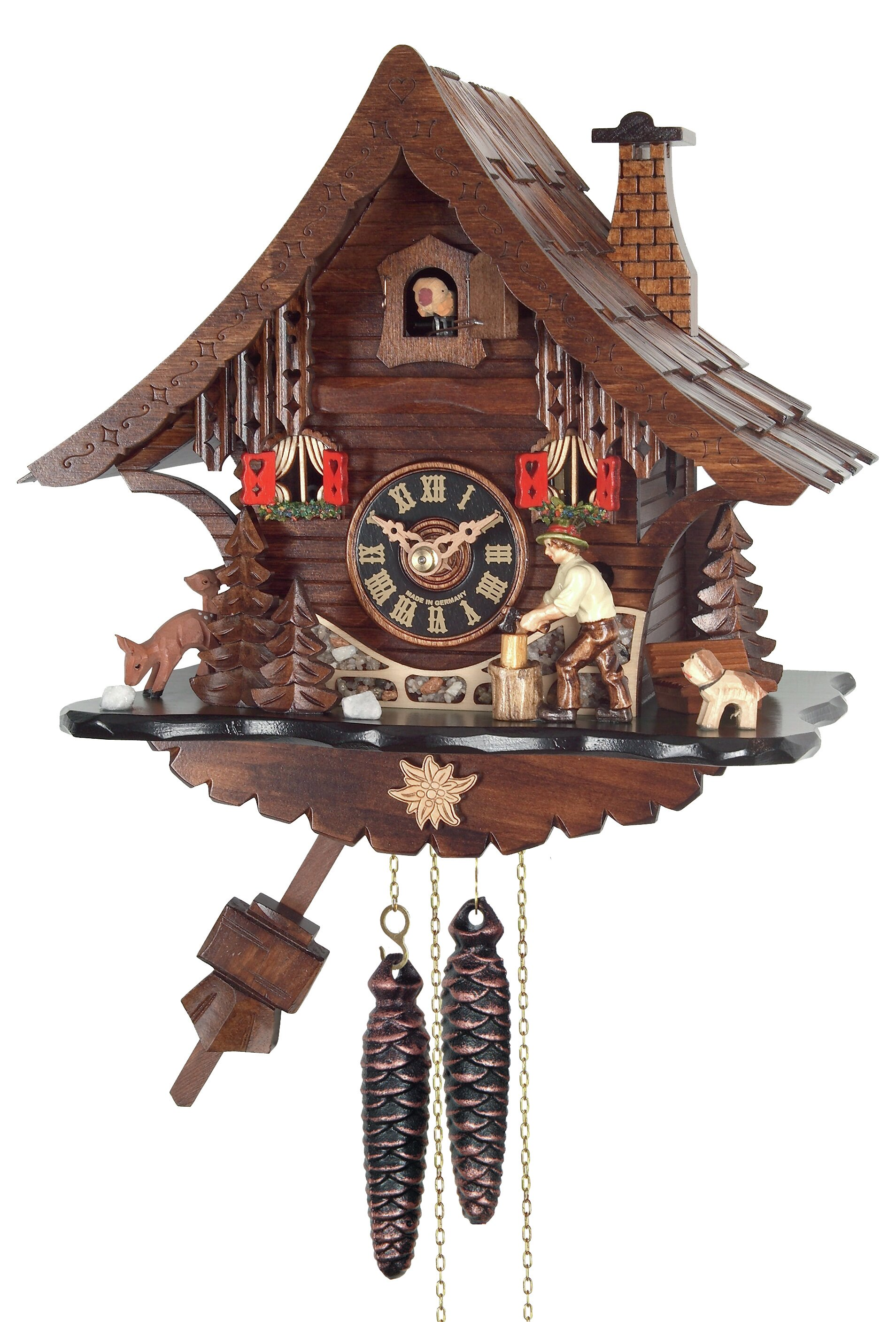 River City Clocks One Day Cottage Cuckoo Wall Clock Wayfair