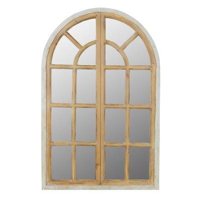 Veltri Farmhouse Arch Wall Mirror