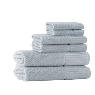 Forsyth 6 Piece Turkish Cotton Towel Set