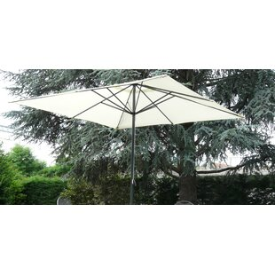 Steveson 3m Square Traditonal Parasol By Sol 72 Outdoor