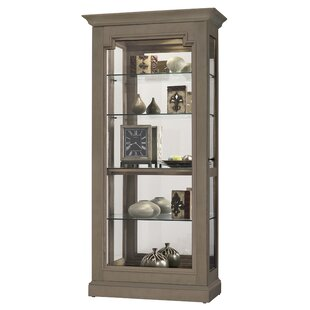 Darby Home Co Bremerton Lighted Curio Cabinet