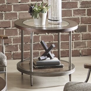 Gracie Oaks Whaley End Table with Storage