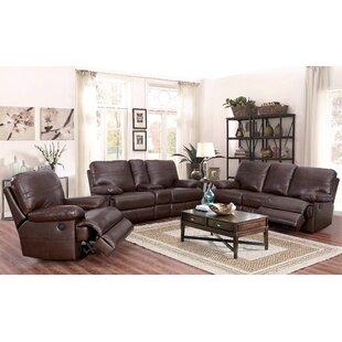 Koehn Leather Reclining Configurable Living Room Set By Red Barrel Studio
