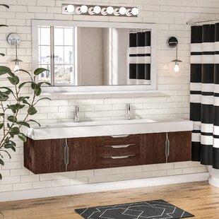 Hukill 73 Wall-Mounted Single Bathroom Vanity Set by Brayden Studio