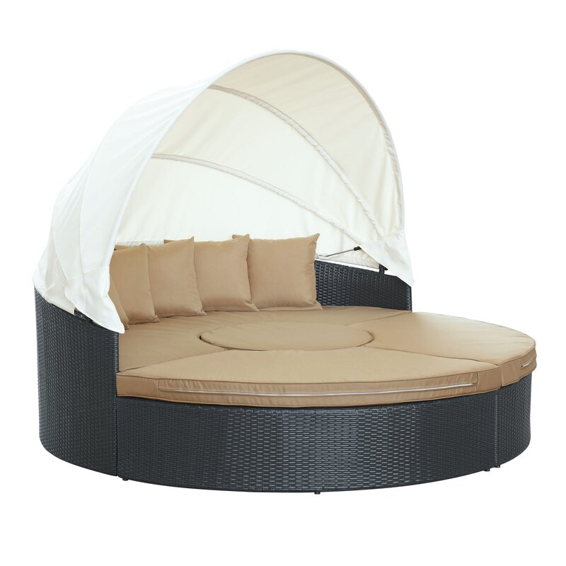default_name - Modway Quest Canopy Daybed Seating Group With Cushions & Reviews