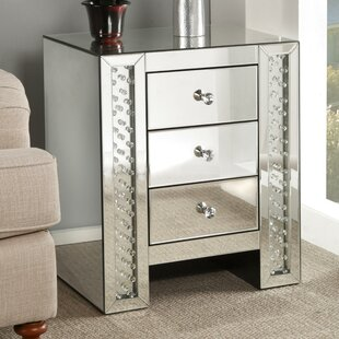 Rosdorf Park Bladwell Mirrored End Table