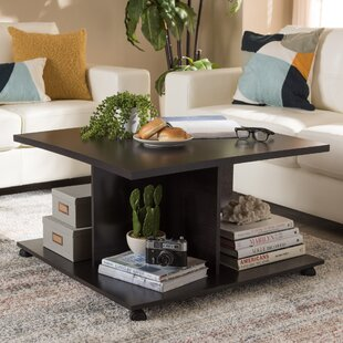 Reviews Perz Coffee Table by Winston Porter
