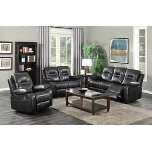 Napolean 3 Piece Living Room Set by Brassex