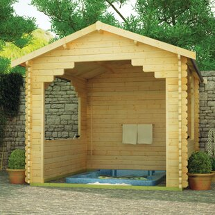Sumatran 10 X 12 Ft. Tongue And Groove Log Cabin By Tiger Sheds