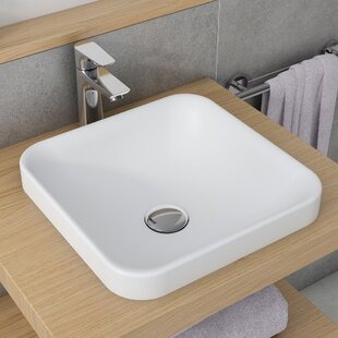 Shopping for Natura™ Square Vessel Bathroom Sink ByKraus