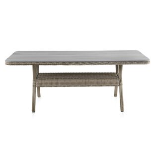 Strongsville Rattan Dining Table By Beachcrest Home