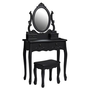 Elissa Dressing Table Set By Lily Manor