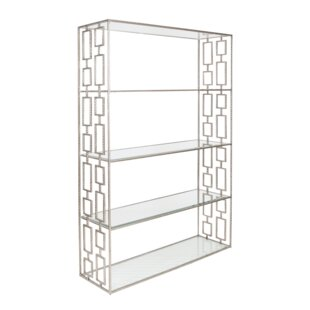 Hammered Etagere Bookcase Worlds Away