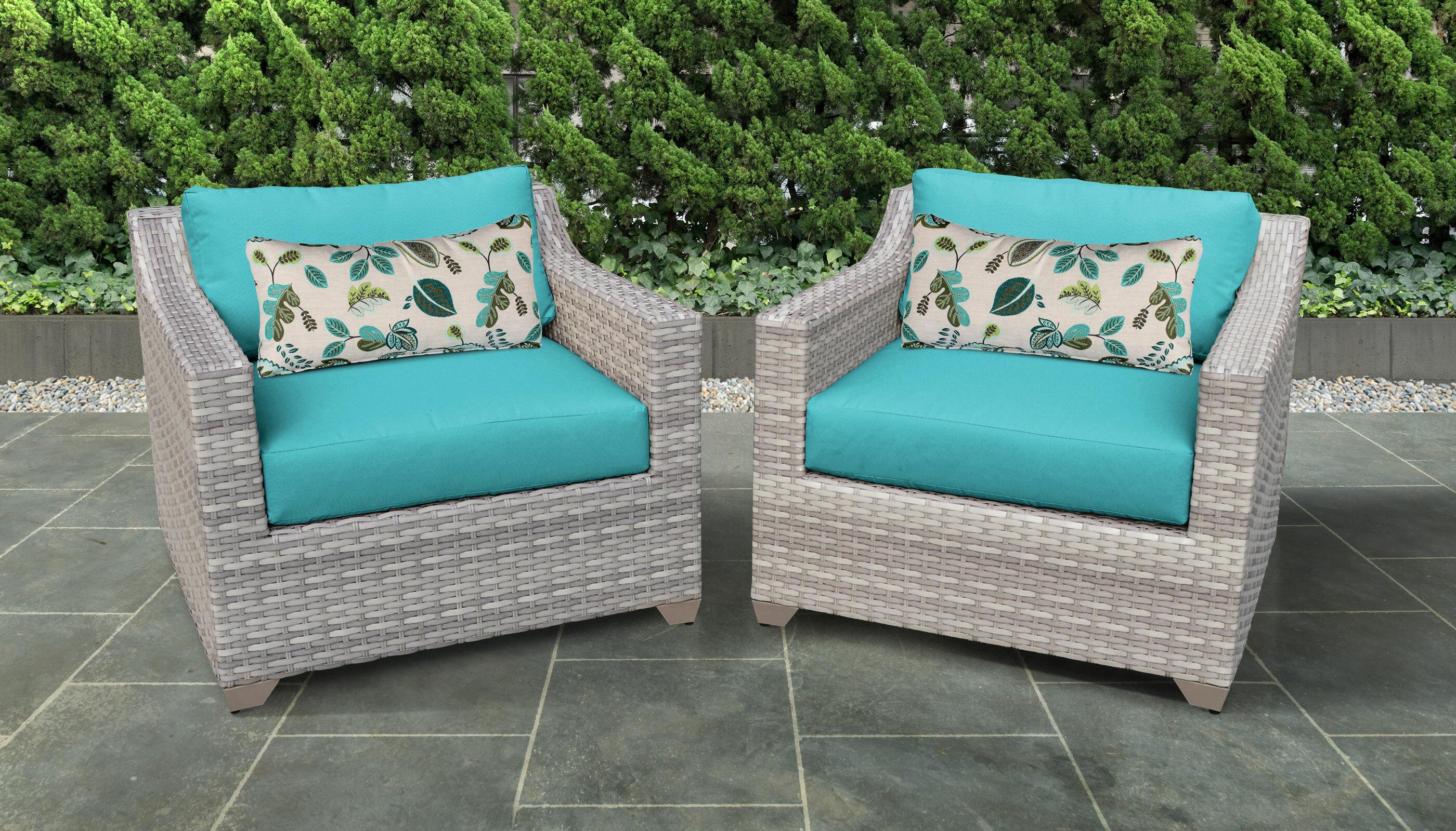 Sol 72 Outdoor Waterbury Patio Chair With Cushions Wayfair Ca