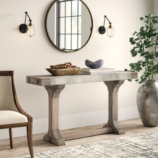 Crisp Console Table by Gre..