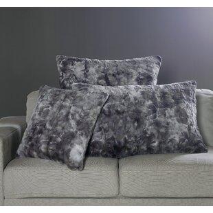Nesting Faux Fur Decorative Pillow Cover