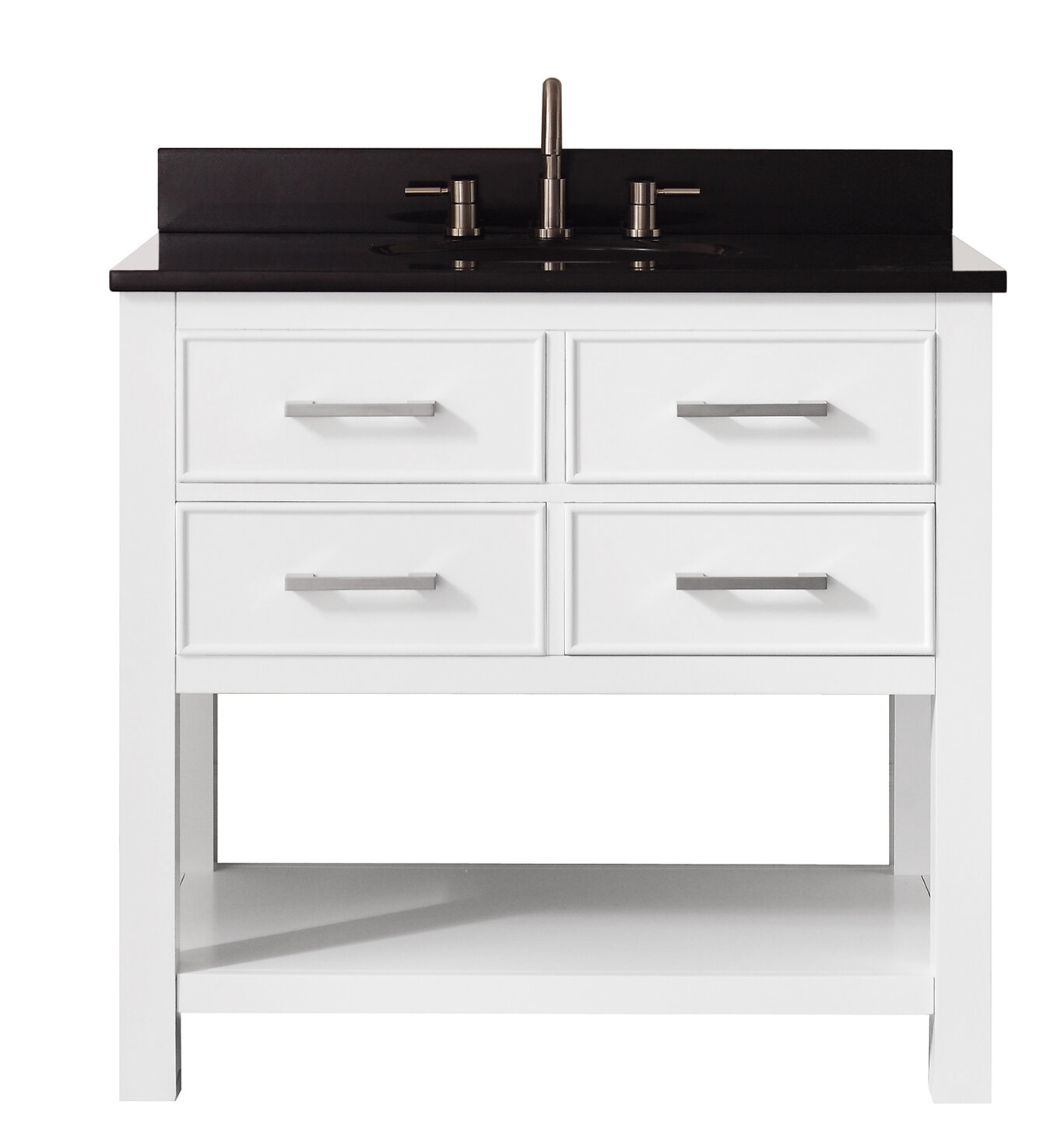 Ivy Bronx Martina 37 Single Modern Bathroom Vanity Set Reviews
