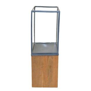 Lingnum Et Lapis Metal/Wood Lantern by Rojo 16