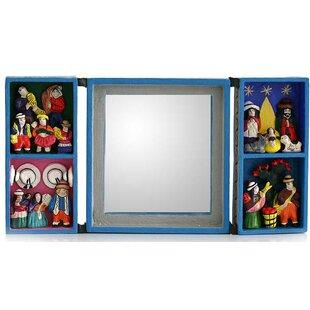 Novica Andean Scenes Retablo Mirror
