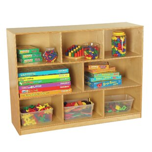 8 Compartment Cubby with Casters By Childcraft