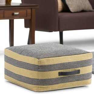 Hamlet Pouf Ottoman by George Oliver