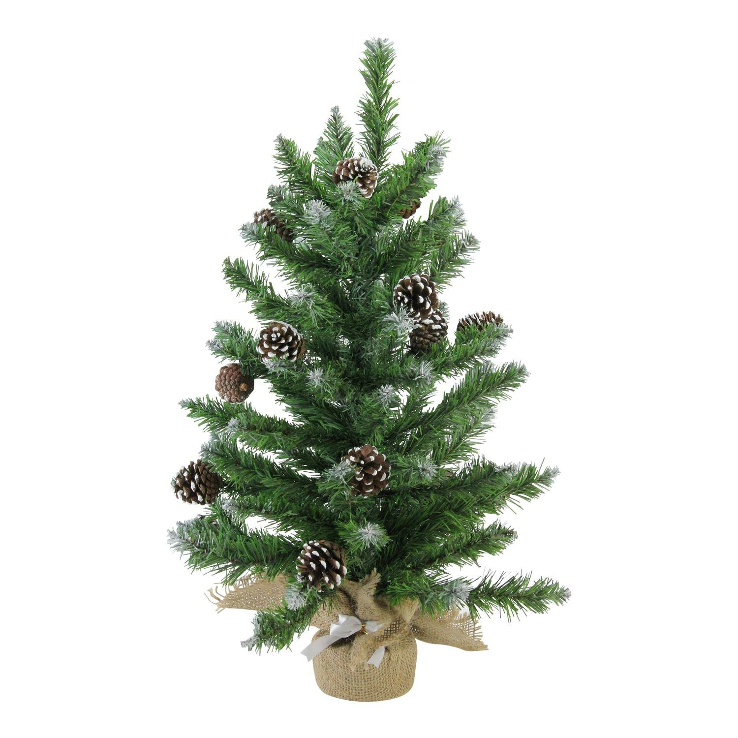 The Holiday Aisle Frosted Norway 2\' Pine Artificial Christmas Tree ...