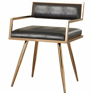Jayleen Genuine Leather Upholstered Dining Chair by Willa Arlo Interiors