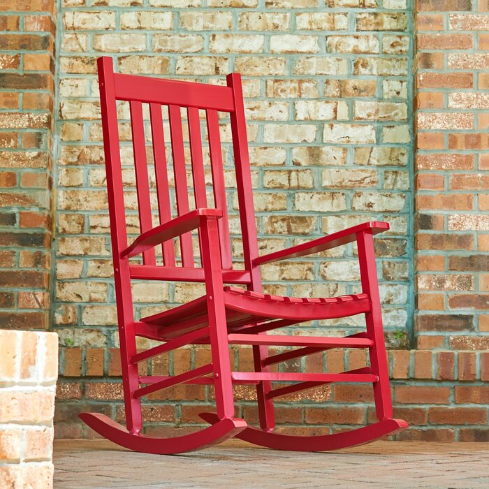 Andover Mills Emjay Rocking Chair (4 color options)