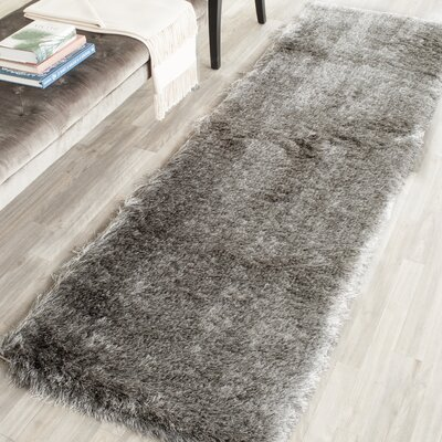 Hand Tufted Silver Area Rug
