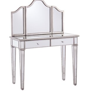 leonardo vanity with mirror - Bedroom Vanities