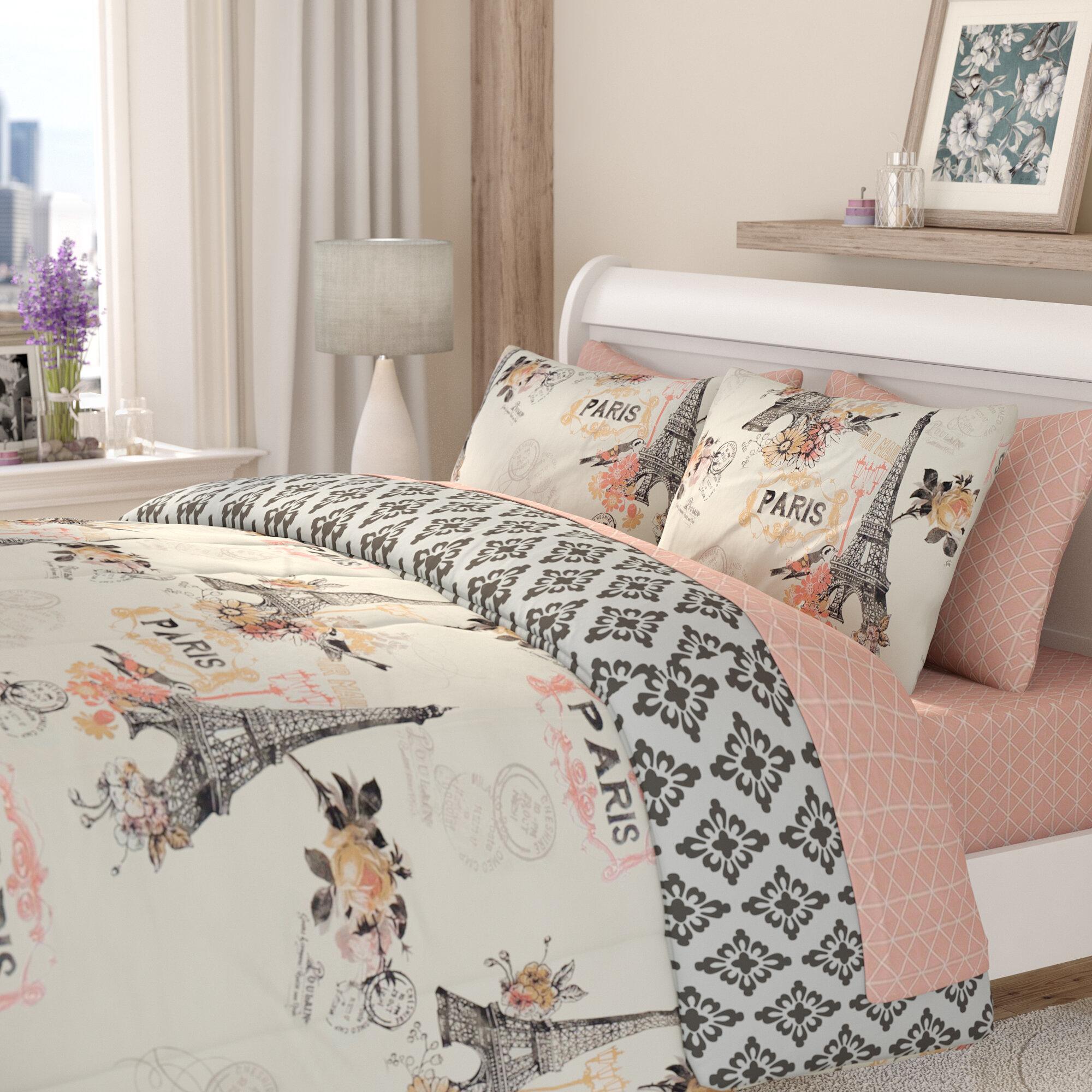 Ophelia Co Croghan Reversible Comforter Set Reviews Wayfair