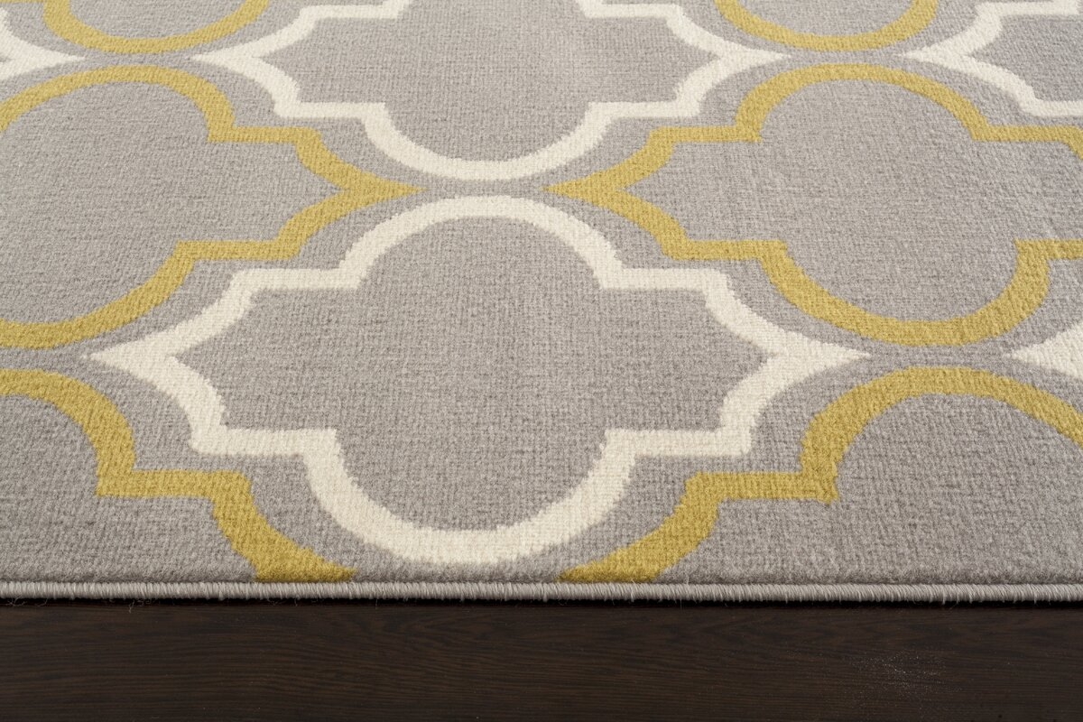 freeman gray  yellow area rug. charlton home freeman gray  yellow area rug  reviews  wayfair