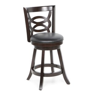 Blevice 24 Swivel Bar Stool (Set of 2) Latitude Run